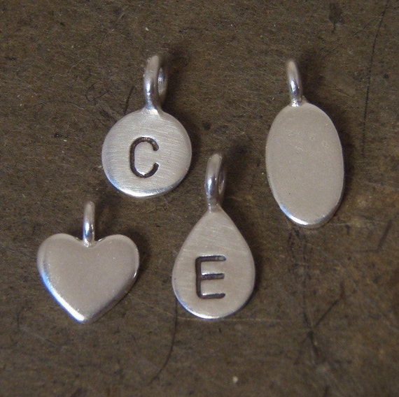 Silver charm add ons - Petite charms in sterling silver and in Thai silver