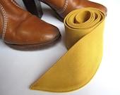 SALE Mustard Sash/Obi Belt