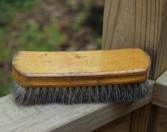 Vintage Shoe Polishing Brush