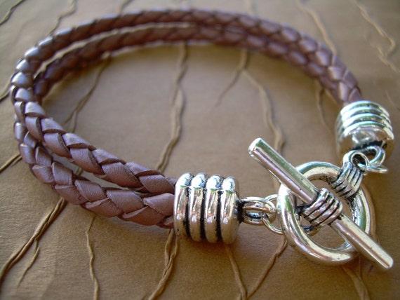 Masculine Men's Leather Bracelet, Braided Bracelet, Mens Jewelry, Mens Bracelet, Mens Gift, Fathers Day, Bracelet, Groomsmen,