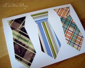 Neck Ties Note Card - Father's Day