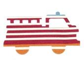 Firetruck Applique