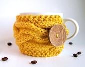Coffee Cup Cozy, Coffee Mug Cozy, Knit Coffee Cozy, Coffee Cup Sleeve, Tea Cozy, Coffee Coozie, Knit Coffee Sleeve