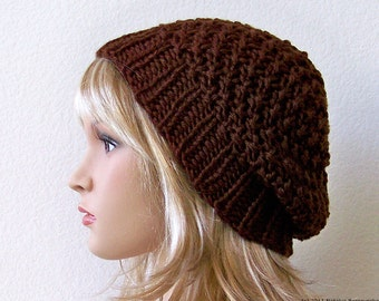 Knit Hat, Slouchy Beanie Hat, Slouchy Hat, Slouchy Beanie Men, Knit Slouch Hat, Knit Slouch Beanie, Knit Slouchy Hat, Slouchy Knit Beanie