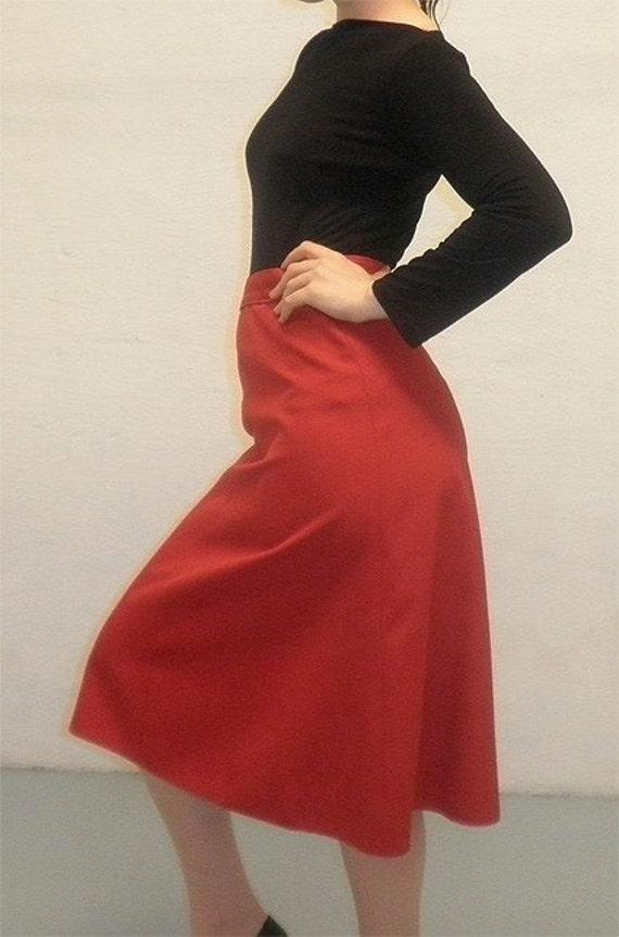 60s HOT PEPPER A-line Skirt