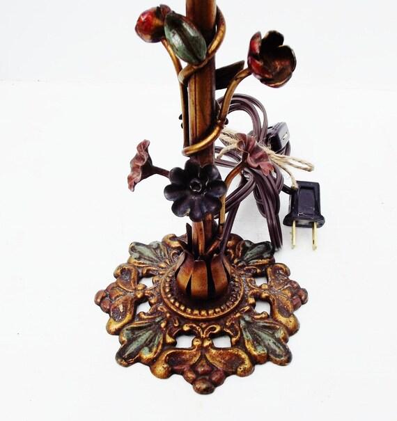 Vintage Italian Tole Lamp