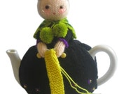 Sweet OLD LADY Tea Cosy  Pdf Email Knit PATTERN
