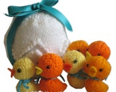 Easter EGG with Six Little Ducks PDF Email Knit PATTERN