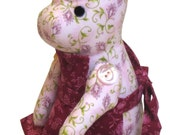 Lovely Fabric PIG Classic Vintage Style PDF email PATTERN