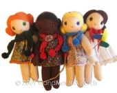 Lovely Amy girly DOLL jumping with her cute SKIPPING Rope Pdf Email Knit PATTERN