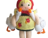 My Darling Geese PDF Email Knit PATTERN