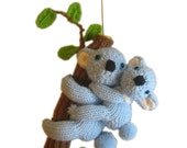 Mum KOALA and her BABY Pdf Email Knit PATTERN