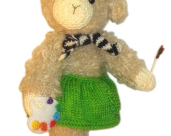Lovely TOULOUSE the Painter Lamb Pdf Email KNIT PATTERN