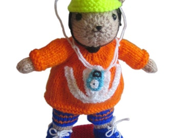 Wiley the SKATER pdf Email Knit PATTERN