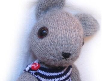 lovely MARNI BUNNY knit Pdf Email Pattern
