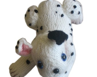 DALMATIAN Puppy Dog Pdf Email Knit PATTERN