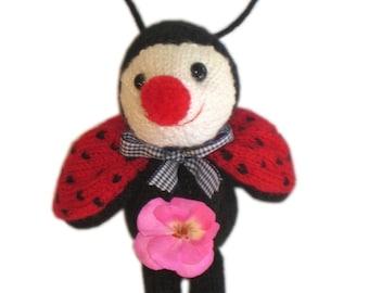 Sweetest LADYBUG  PDF Email Knit PATTERN