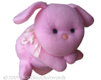 Pink PUPPY Dog PUPPET Pdf Email Fabric sewing  PATTERN