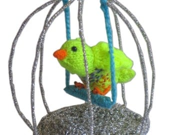 The Little BIRDCAGE Pdf Email KNIT PATTERN