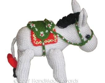 Lovely DONKEY Pdf EMAIL Knit PATTERN