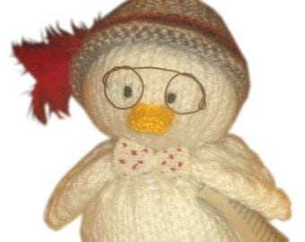 Indiana Jones Duck and his Happy Family PDF Email Knit PATTERN