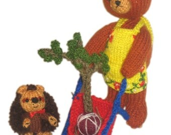 Our Gardeners PDF Email Knit PATTERN