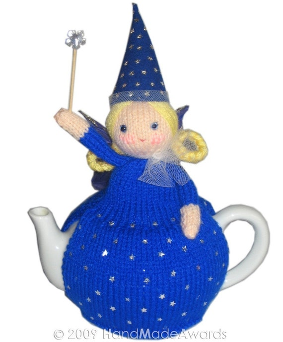 The BLUE FAIRY Pdf Email Knit PATTERN