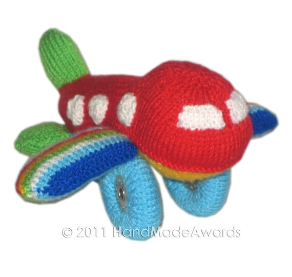 Baby AIRPLANE PDF Email Knit PATTERN