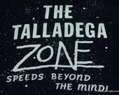 Vintage Talladega Zone Speedway 80s Shirt Twilight Parody Soft Thin M