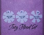 Tiny Florals Designer Template Set
