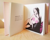 Female Anatomy - screen printed artist book