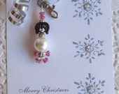 Reserve for Diana two charms Maltese dog Bischon Frise