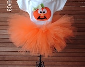 SALE SALE SALE Pumpkin Pie tutu ensemble Perfect to wear to the pumpkin patch available in sizes . 0-3m,3-6m,6-9m,12m,18m, and 24m