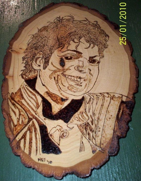 Hand Drawn Michael Jackson