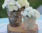 Amazing thick Natural Wood Tree Slice With Bark Cake Stand Centerpiece Flower Arrangement Candle Holder Decoration Rustic Woodland Spring Summer Vintage Garden Shabby CHIC decor