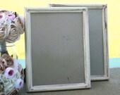 Set of 2 Wedding Signs 8x10 Frames Barn Wood Shabby (item P10434)