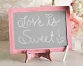 Wedding Chalkboard Sign Shabby Chic (item P10221)