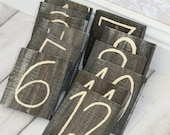 Rustic Table Numbers Vintage Wedding Decor Morgann Hill Designs