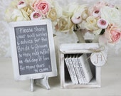 Rustic Guest Book Alternative Shabby Chic Wedding Decor