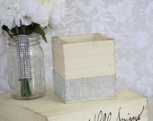Rustic Wedding Planter Boxes Shabby Chic Centerpiece Vases Custom Boxes
