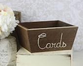 Rustic Wedding Card Box XLARGE (item P10429)
