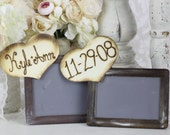 Rustic Guest Book Photo Booth Alternative Chalkboard Signs Rustic Chic wedding Decor
