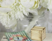 Rustic Wedding Wood Table Number Holders SET of 12 (item BU10404)