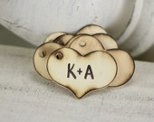 Personalized Rustic Wood Tags Wedding Favors Place Name Cards SET OF 200 (item P10134)