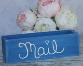 Rustic Home Decor Mail Organizer Nautical Shabby Chic (item P10372)