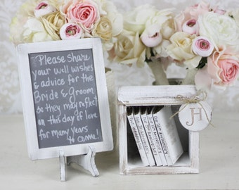 Rustic Guest Book Alternative Shabby Chic Wedding Decor