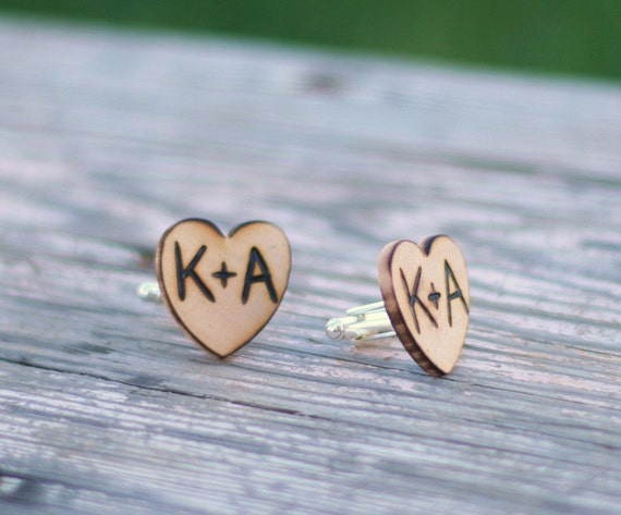 Wedding Cufflinks Personalized Gift For Groom (item E10446)
