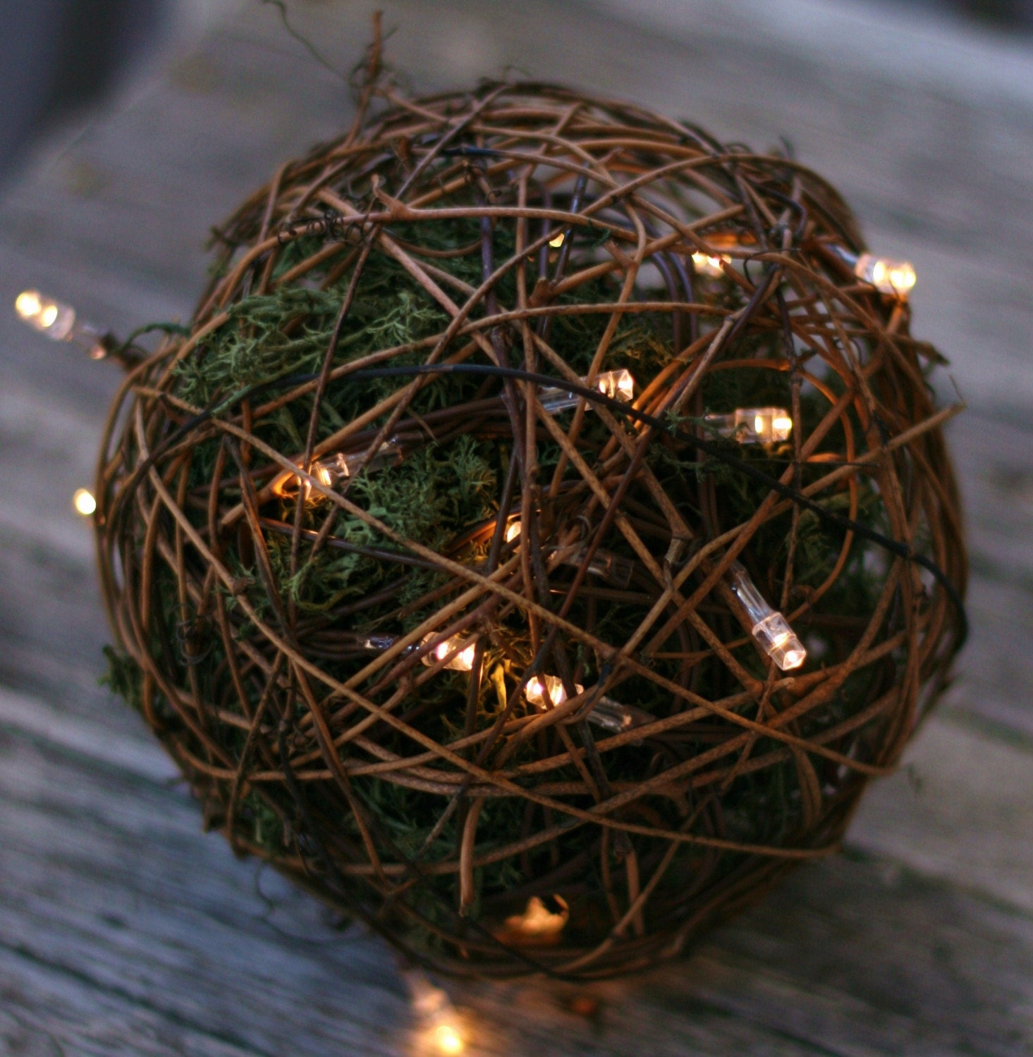 Outdoor String Lights That Do Not Attract Bugs : Items similar to Rustic Woodland Outdoor Rustic Wedding Decoration Candles Firefly Lightning Bug ...