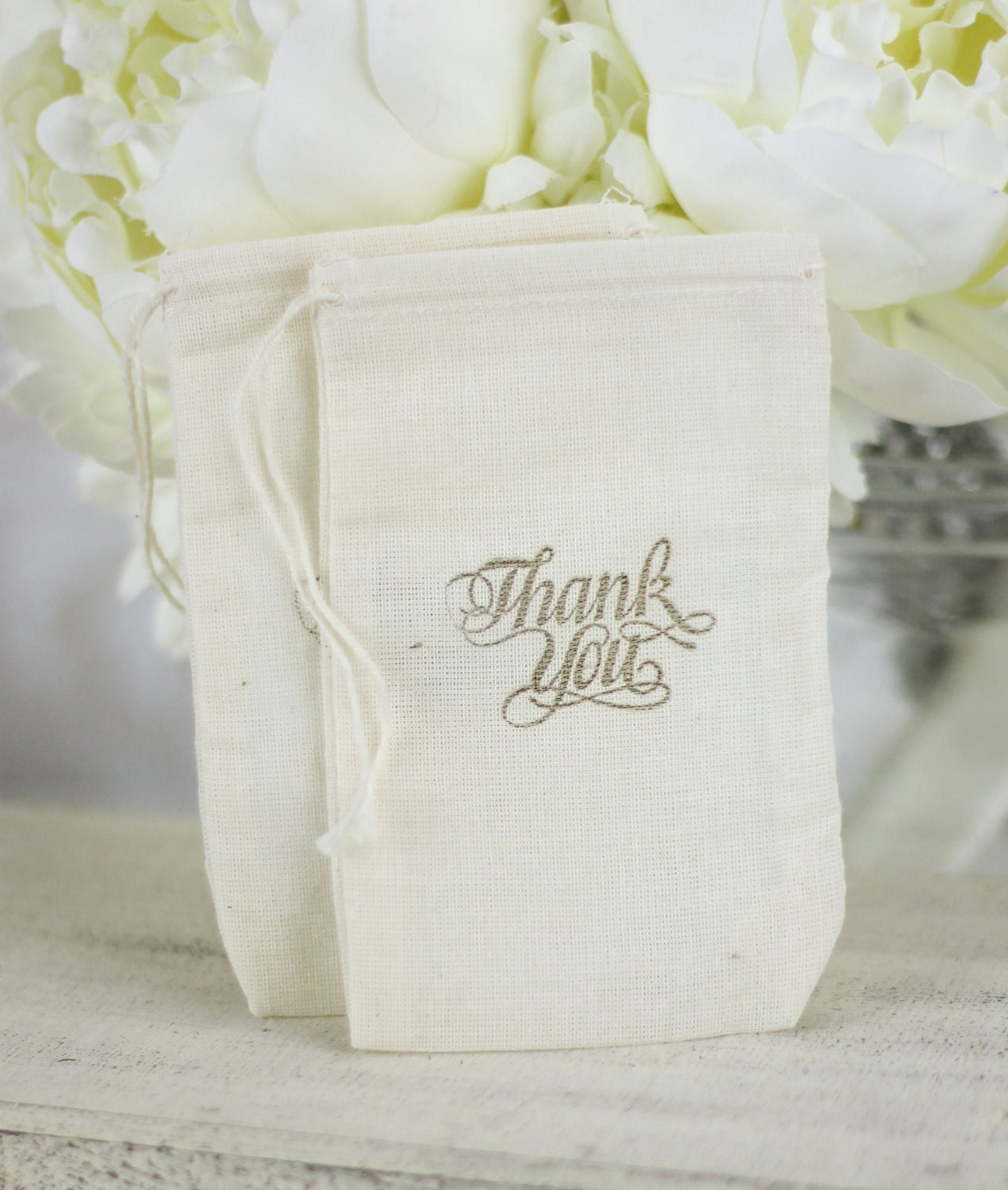 Items Similar To Rustic Wedding Favor Bags Thank You Candy Bags Dessert Bar SET Of 50 On Etsy