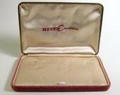 Vintage 1950s Brocade Jewelry Presentation Box Winey Creations